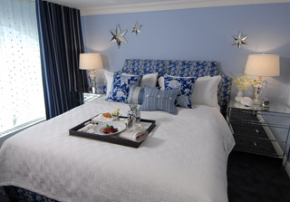 Bedroom Design Grey And Blue